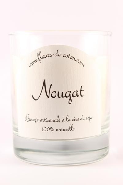 Bougie Naturelle Bougie Nougat Bougie Parfumee Bougie Fleurs De